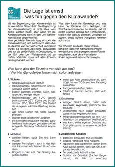 Kommunalwahl Einlegeblatt 2020