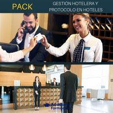 cursos gestión hotelera y protocolo en hoteles