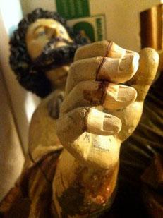 Etape 4: collage des doigts