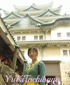 名古屋城へ 立花雪 YukiTachibana