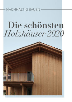 """E-Book """"Nachhaltig bauen - Die schönsten Holzhäuser 2020"""""""