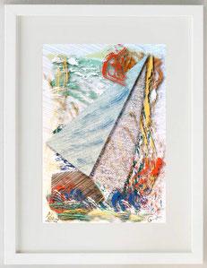 """Autumn navigation"", 2020, Digital painting, 20 x 30"