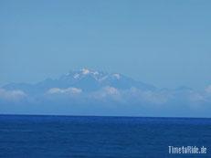 Neuseeland - Motorrad - Reise - Cape Palliser - Blick aud Südinsel