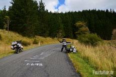 Neuseeland - Motorrad - Reise - Erdbeben - Umfaller