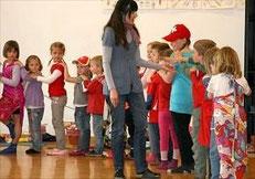 Die Leiterin Jacqueline Rubli konnte die Kinder zusammen mit ihren Helferinnen über die ganze Woche begeistern.