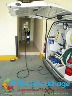 Debouchage wc Haute pression urgent Toulon 83