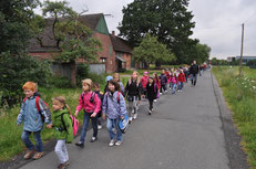 Der Weg nach Stromberg muss zu Fuß zurückgelegt werden.