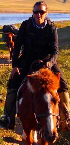 A cheval en Mongolie