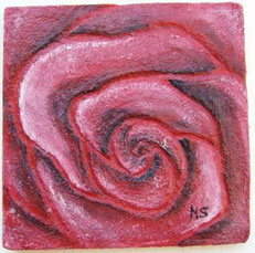 Titolo, sabrina.   Anno, 2004. Dimensioni,  cm 24 x cm 24. Tecnica muratura