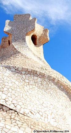 Turret of Casa Mila (La Pedrera), Barcelona