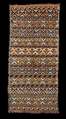 Vintage Kilim from Iran. Handgewebter Teppiche, Kelim Zürich, Teppich Zurich