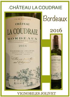 Châteaux la Coudraie- Bordeaux