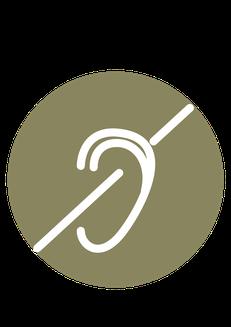 icone surdité