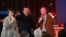 Suzette Hattingh und Bengt Wedemalm illustrieren eine Predigt