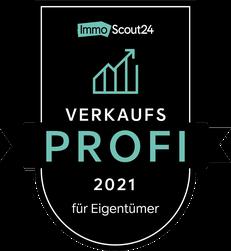 Siegel ImmoScout24-Verkaufsprofi 2021