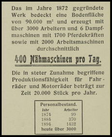 1905 Advertisement