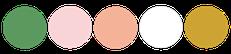 Paleta de colores para bodas shabby chic rosado colores pasteles rosado y peach
