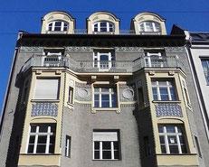 Foto schöne Fassade