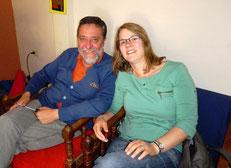 Mit Gründer und Direktor Rigoberto Chauvin