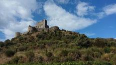 Maison de vacances en Languedoc-Roussillon - château cathare