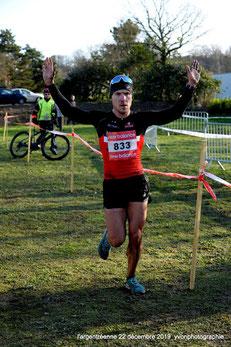 Anthony Avril, vainqueur du 16 kms