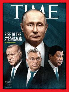 Путин Владимир, Президент России, Time 14 мая 2018