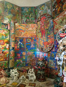 La chapelle (150 oeuvres ont pis place entre ses murs)