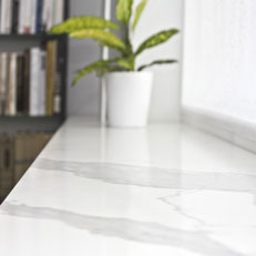 Engineered stone surfaces are easy to clean and to maintain in good shape