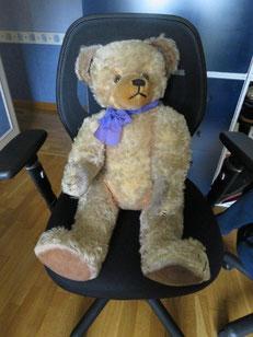 Réparation d'un ours en peluche, réparer ours peluche, Clinique ours peluche, restauration ours peluche