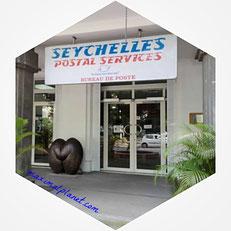Postamt Victoria Clocktower Mahé Seychellen