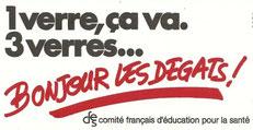 Affiche du comité français d'éducation pour la santé