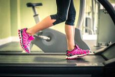 Kalorienverbrauch auf dem Laufband