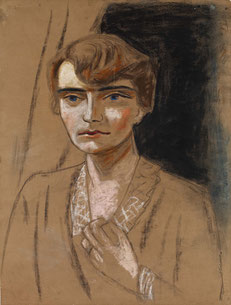 Max Beckmann Porträt Naila, um 1923 Museum der bildenden Künste Leipzig, Nachlass Mathilde Q. Beckmann © VG Bild-Kunst, Bonn 2017