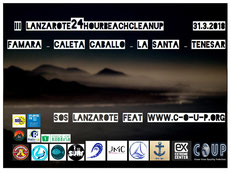 COUP 24 HOUR Beachcleanup, #lanzarote24hourbeachcleanup