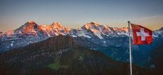 Eiger, Mönch und Jungrau, Top of Europe, © Carmen Weder - Art of Moment