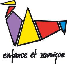 Logo de l'association enfance et musique.