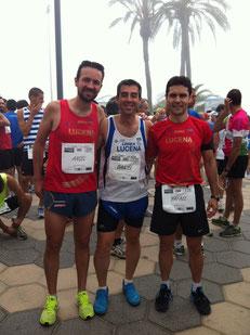 De izq. a der. Ángel Caballero, Daniel Zamorano y Rafael Hurtado. PINCHA MÁS FOTOS.