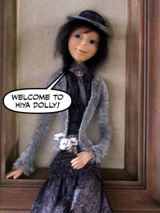 Art doll, Sophie.
