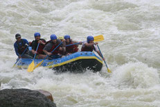 Rafting trip from Arenal - La Fortuna