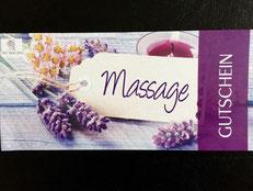 Massagegutschein - ein schönes Geschenk  zu fast jeder Gelegenheit