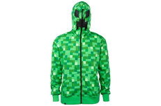 Minecraft Creeper Premium Zip-up Hoodie JNX-015