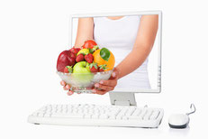Online-Shop für Biolebensmittel