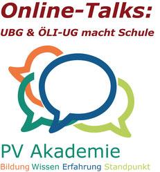 NEU:   Online-Talks zu aktuellen Themen UBG und ÖLI-UG  Bild:spagra