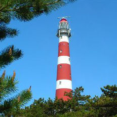 Der Amelander Leuchtturm