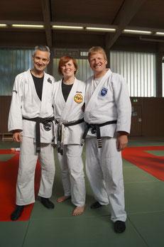 v.l.: Luca, Christin und Claus