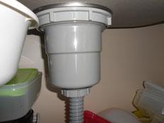 シンク水漏れ、排水詰まり直し