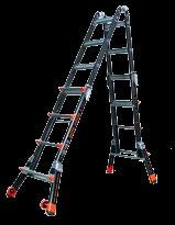 Escalera Fibra telescopica