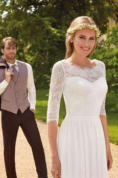 Brautmode, die zu Ihnen passt