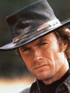 Clint Eastwood, Vénus opposé Saturne, maisons VIII-II.