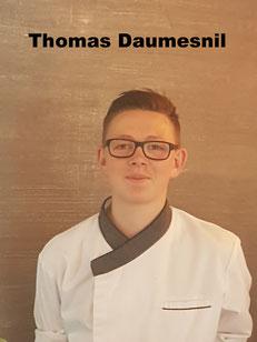 Thomas Daumesnil Apprenti en cuisine